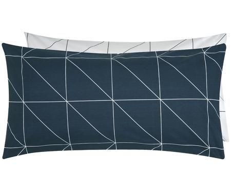 Funda de almohada de tejido Renforcé, caras distinats Marla