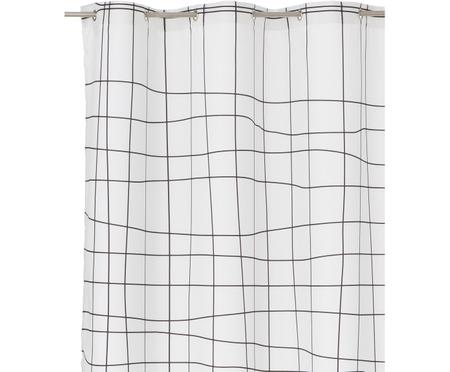 Schmaler Duschvorhang Grid