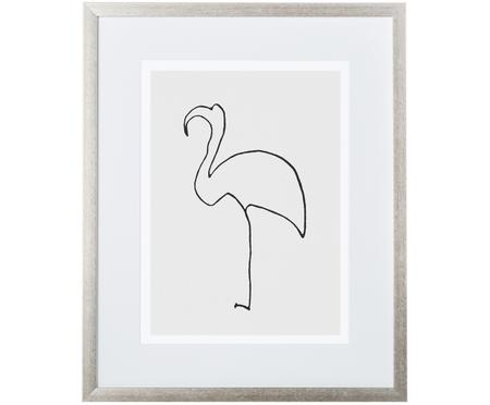 Gerahmter Digitaldruck Picasso's Flamingo