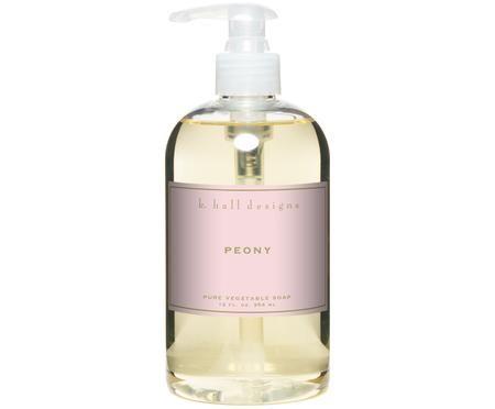 Savon liquide pour les mains Peony (parfum floral)