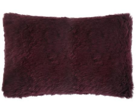 Cojín de piel de oveja Cassy