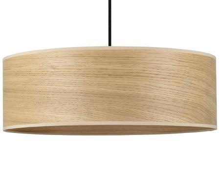 Lampada a sospensione in legno di quercia Tsuri
