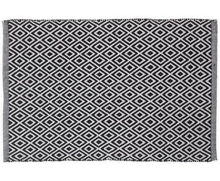 Tapis de bain style ethno monochrome Erin