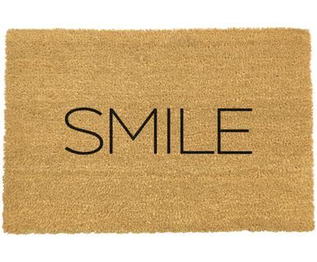 Zerbino antiscivolo in cocco Smile