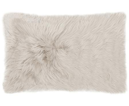 Funda de cojín de piel de oveja Oslo