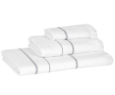Komplet ręczników Edda, 3 elem.