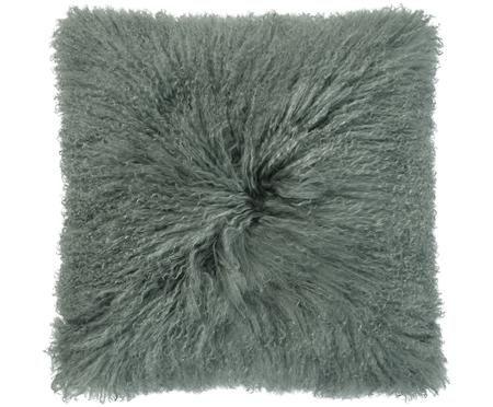 Kussen van langharige schapenvacht Curly