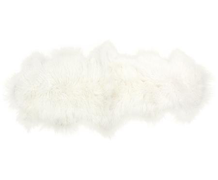 Tappeto in pelliccia d'agnello a pelo lungo Ella, riccio