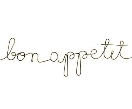 Wandobjekt Bon Appetit