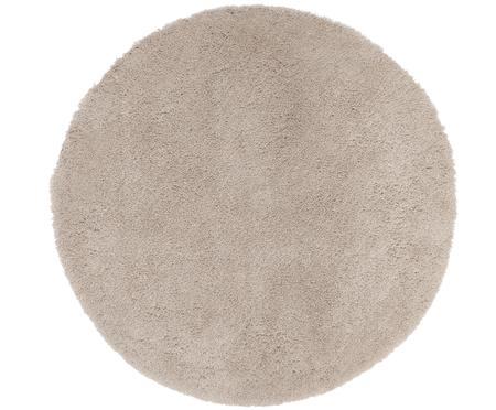 Okrągły dywan z wysokim stosem Leighton