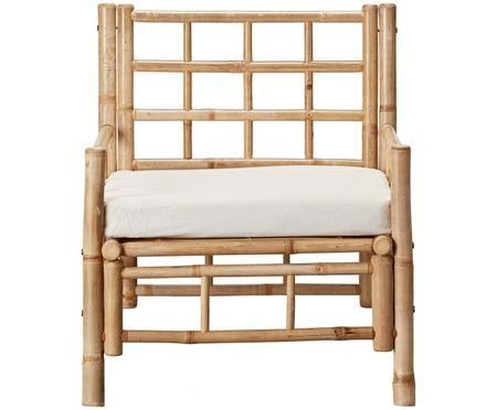 Bamboehouten stoel Mandisa