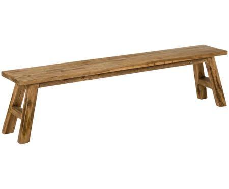 Ławka z drewna tekowego Lawas