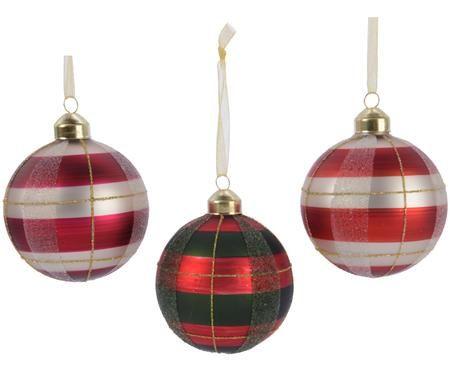 Sada vánočních koulí Karo, 3díly