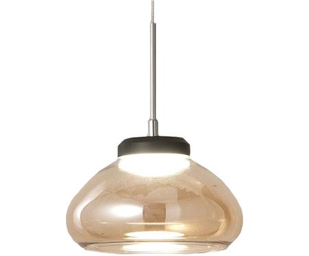 Suspension LED en verre Arabella