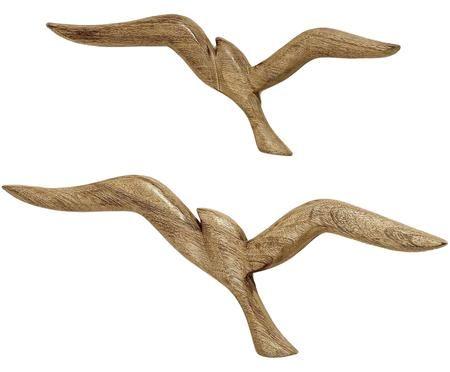 Set de decoración de pared Birds, 2pzas.