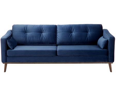 Sofa z aksamitu Alva (3-osobowa)