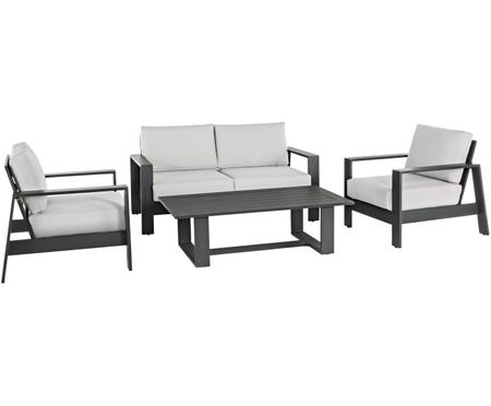 Outdoor loungeset Atlantic, 4-delig