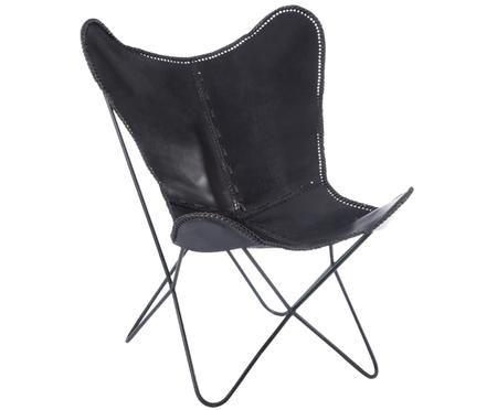 Leren fauteuil Brady