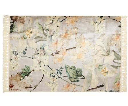 Teppich Rosalee mit Blumenmuster
