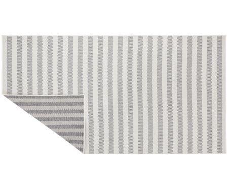 Tapis réversible intérieur-extérieur imprimé rayures Delilia