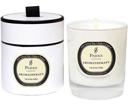 Świeca zapachowa z trzema knotami Aromatherapy (konwalia)