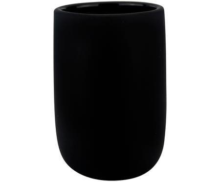 Keramik-Zahnputzbecher Lotus