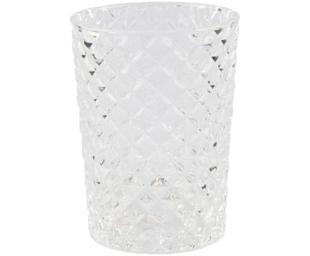 Glas-Zahnputzbecher Diamante