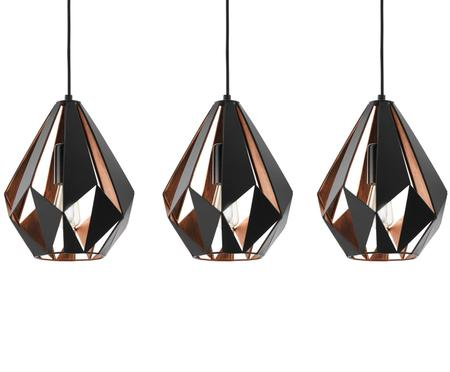 Suspension style scandinave Carlton