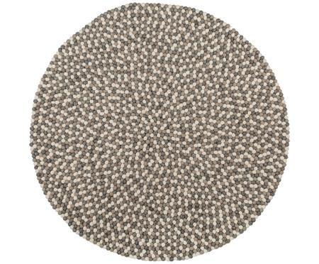 Ręcznie szyty dywan z wełny Dot