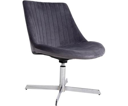 Krzesło obrotowe z aksamitu Oulu