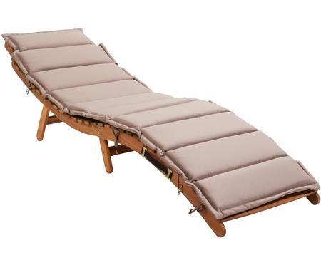 Leżak z drewna Sun Waver