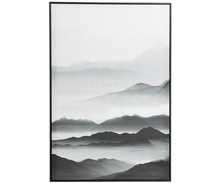 Stampa su tela incorniciata Fog