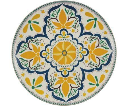 Handbemalter Servierteller Sicilia