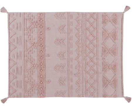 Ethno Teppich Tribu mit getuftetem Muster, waschbar
