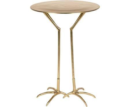 Tavolino dorato Theen Heron