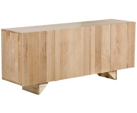 Credenza in legno massiccio Louis