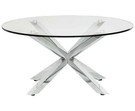 Table basse en verre Emilie