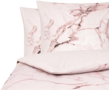 Perkal-Bettwäsche Malin mit Marmor Muster