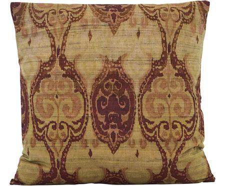 Hedvábný povlak na polštář ve vintage styluThia