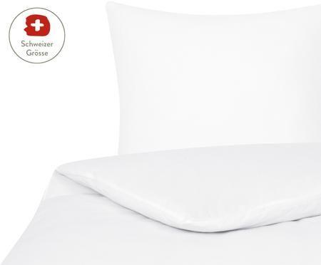 Flanell-Bettdeckenbezug Erica in Weiss