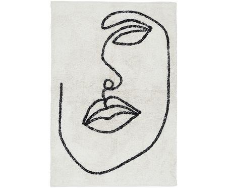 Tappeto in cotone con motivo astratto Visage