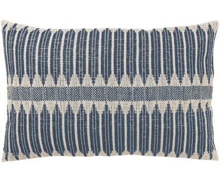 Handgemachtes Kissen Aztec im Boho Style, mit Inlett