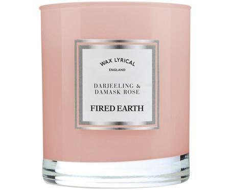Świeca zapachowa Fired Earth (herbata darjeeling i róża)