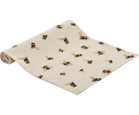 Tischläufer Bonnie mit Bienenmuster