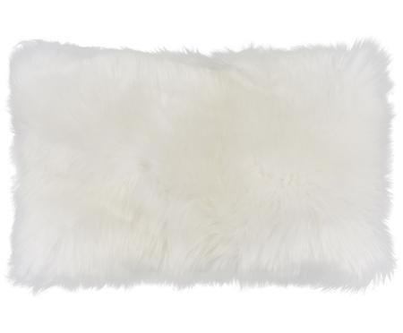 Poszewka na poduszkę ze skóry owczej Oslo, gładka