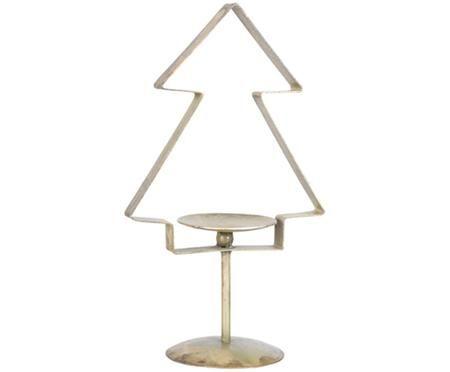 Portacandela natalizio a forma di pino Tree
