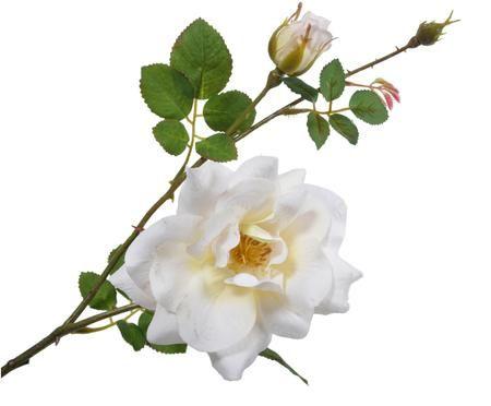 Kunstbloem Rose Malina