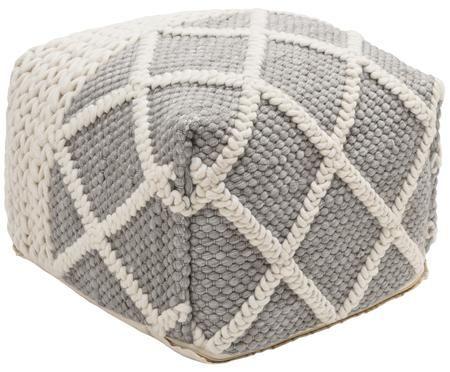 Pouf in cucitura a maglia Anna