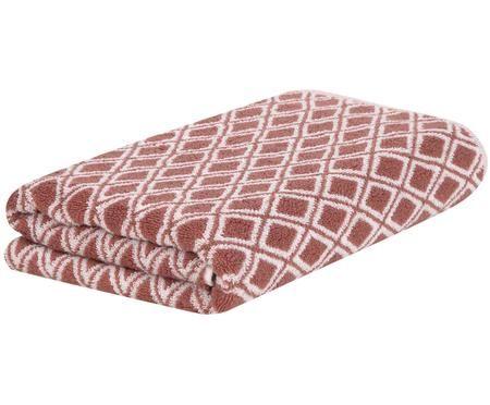 Wende-Handtuch Ava mit grafischem Muster