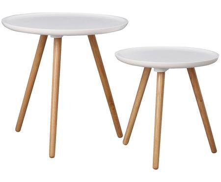 Set tavolini d'appoggio Daisy, 2 pz.